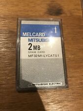 SRAM Card 2MB Melcard Mitsubishi PCMCIA (2nd Of 2 Available) - Eventide, TC etc.