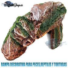 RAMPAS PARA REPTILES RAMPAS PARA TORTUGAS DECORACION ACUARIO FIGURA RAMPA REPTIL