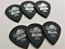 Dunlop 482R 1.5 Tortex Pitch Black Jazz III Guitar Picks 1.5 MM  6 Pack