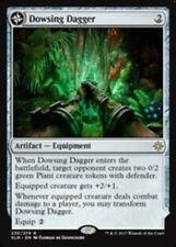 Magic the Gathering MTG Dowsing Dagger // Lotus Vale - Ixalan NM Rare