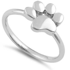 Melchior Jewellery Sterling Silver Animal Lover Paw Ring Gift Boxed