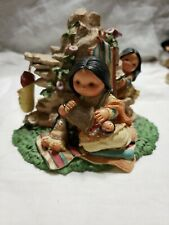 """1997 Enesco Corp. Designed By Karen Hahn """"Wise One Who Wraps Love With Kindness�"""