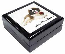 St Bernard+Rose /'Love You Mum/' Photo Slate Christmas Gift Ornamen AD-SBE5RlymSL
