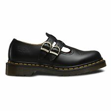 Dr. Martens 8065 Mary Jane Womens Black Leather Strap Casual Dress Shoes UK 8