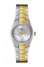 T0960092211100 Tissot T-Round Women's Watch Mother of Pearl Dial TwoTone T-Lady