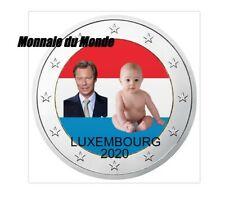2 euro Luxembourg 2020 Naissance Princière commémorative Lussemburgo Luxemburgo