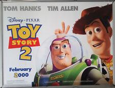 Cinema Poster: TOY STORY 2 1999 (Advance Quad) Pixar/Walt Disney Tom Hanks