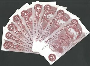 B295 HOLLOM 1963 TEN SHILLINGS 10/- BANKNOTE SELECT YOUR NOTE