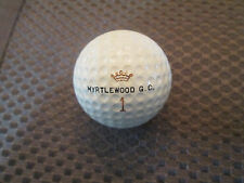 LOGO GOLF BALL-MYRTLEWOOD GOLF CLUB.. MYRTLE BEACH, SC...VINTAGE SPECIAL BALL