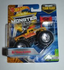 MONSTER JAM 25 YEARS EL TORO LOCO CREATURES 1/10 INCLUDES TEAM FLAG !!