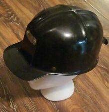 Vintage Miner's Cap Helmet MSA Comfo-Cap Black EXCELLENT Clean No Cracks
