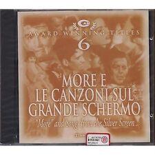 Cam Award Winning - More e le canzoni sul grande schermo 6 - CD OST 1998 SEALED
