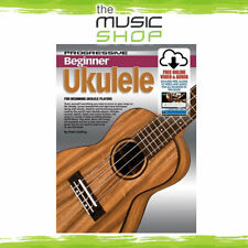 Progressive Beginner Ukulele Book with Online Audio & Video - Learn To Play Uke