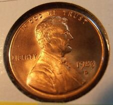 1983 D LINCOLN CENT, BU FROM A ROLL, FREE SHIPPING