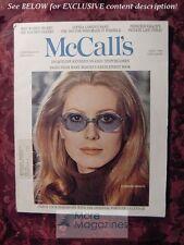 McCALL's April 1969 CATHERINE DENEUVE OMAR SHARIF John Bainbridge