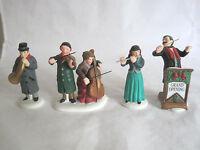 Dept 56 Heritage Village Chamber Orchestra Set of 4 #58840 Retired