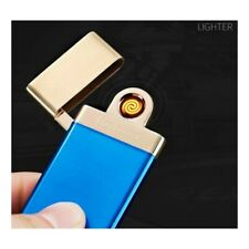 Cigarette Flameless Lighter Electric Rechargeable Windproof Single-Arc USB Safe