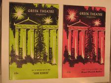 2 Historical Greek Theatre Magizines