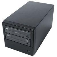 1 to 1 DVD/CD Single Disc Auto Start Copy Burner Duplicator with Asus 24x Writer