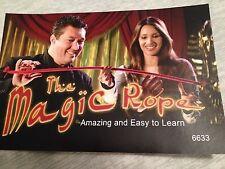 Magic Pro Rope - Magic Stiff Rope - Rope Becomes Stiff or Rigid at Will