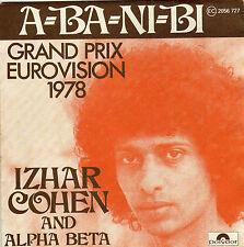 IZHAR COHEN & ALPHA BETA A-BA-NI-BI / ILLUSIONS FRENCH 45 SINGLE