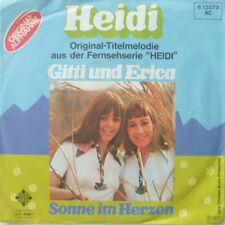 """7"""" KULT! GITTI UND ERICA : ORIGINAL-Titelmelodie Heidi"""