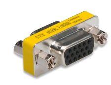 Kabel/Adapter mit VGA/SVGA D-Sub- auf VGA/SVGA D-Sub-Buchse