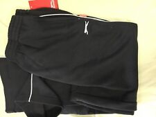SLAZENGER MENS FLEECY TRACKPANTS NAVY WITH WHITE PIPING SIZE XLARGE BRAND NEW