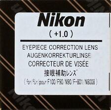 Nikon F100/F90/F801/N90/N8008,F6,F5,F4,F3HP,F3T Diopter Lens+1