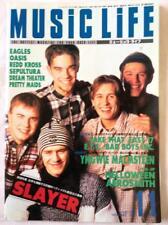 USED MUSIC LIFE 11/1994 Japan Music Magazine Take That East 17 E.Y.C. Sepultura