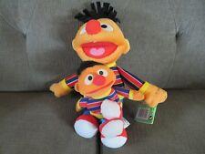 "Sesame Street 13"" Ernie 2009 Fisher-Price & Tyco 1997 7"" Ernie Plush Doll Lot"
