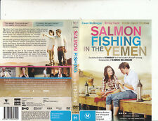 Salmon Fishing In The Yemen-2011-Ewan McGregor-Movie- DVD