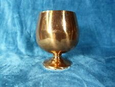 VINTAGE COPPER (CG) COPPERCRAFT GUILD MADE IN USA CHALICE - NOT FOR FOOD USE