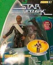 """Star Trek TNG Worf 6"""" (factor Warp combate de acción serie 1) Playmates"""