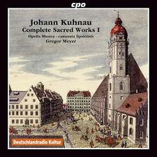 Kuhnau / Meyer / Opella Musica - Comp Sacred Works 1 [New CD]
