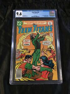 Teen Titans #46 CGC 9.6 NM+ WHITE Pgs 1st Appearance Harlequin Joker's Daughter!