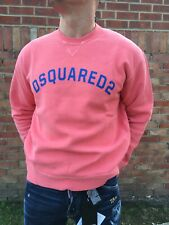 Sale!!! Authentic Dsquared2 Sweatshirt  colour Coral, size M /  L