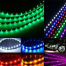 6pcs Waterproof 12''/15 DC12V Motor LED Strip Underbody Light For Car Motorcycle