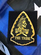 TRIBE Navy Seal Team 6 DEVGRU Arrow Shape ST6 Red Squadron SOCCOM Embroid Patch