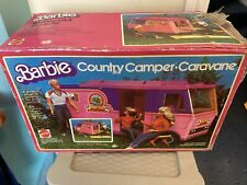 Vintage 1970s Mattel Barbie Country Camper w/ Original Box And Accessories