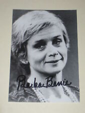 Actress BARBARA BARIE Signed 4x6 BARNEY MILLER Photo AUTOGRAPH 1