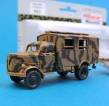 Roco Minitanks H0 893 OPEL BLITZ KOFFER getarnt OVP EDW WWII Wehrmacht 1:87 HO