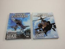 Weapons of War: Super Fighters & Attack Helicopters (DVD, 2006) SEALED