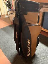 Vintage Taylormade Burner Cart Bag Golf