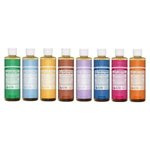 NEW Dr. Bronner's Hemp Pure-Castile Soap Liquid 237ml 18-in-1 All Scent Bronners