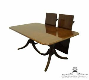 """THOMASVILLE FURNITURE Collector's Cherry Traditional Style 102"""" Double Pedest..."""