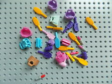 LEGO Minifigure Accessories For Friends large lot of Vanity Bathroom Pieces