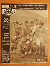 Miroir des Sports 441 du 11/1/1954-Rugby à Edimbourg Ecosse-France 0-3.Chevalier