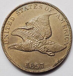 U.S. 1857 Flying Eagle Cent - 1c