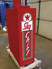 UNION 76 GAS REGULAR OLD TOKHEIM CLOCKFACE GAS PUMP BANNER SIGN MURAL ART 2'X6'